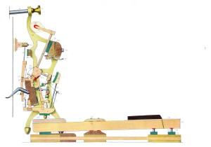 Spaccato di una meccanica verticale moderna