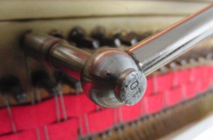Accordatura e regolazione della meccanica